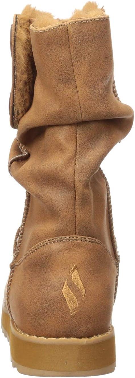 Skechers Keepsakes 2.0 Botines/Low Boots Mujeres Camel Botas De Caña Baja Shoes Marrón Castaño 4yfwn