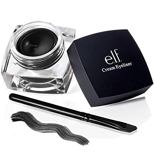 e.l.f. Studio Cream Eyeliner BLACK Eye Liner Makeup Liquid Waterproof Sexy ELF