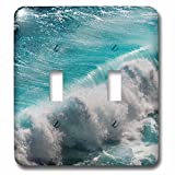 Danita Delimont - Oceans - Ocean waves, Bali island, Indonesia - Light Switch Covers - double toggle switch (lsp_225819_2)