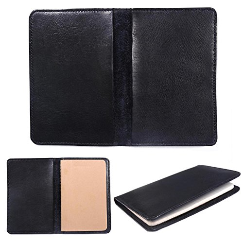 Marycrafts Refillable Leather Composition Moleskine