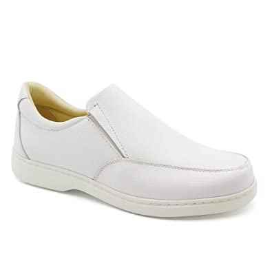 21795b63c Sapato Masculino 412 em Couro Floater Branco Doctor Shoes: Amazon ...
