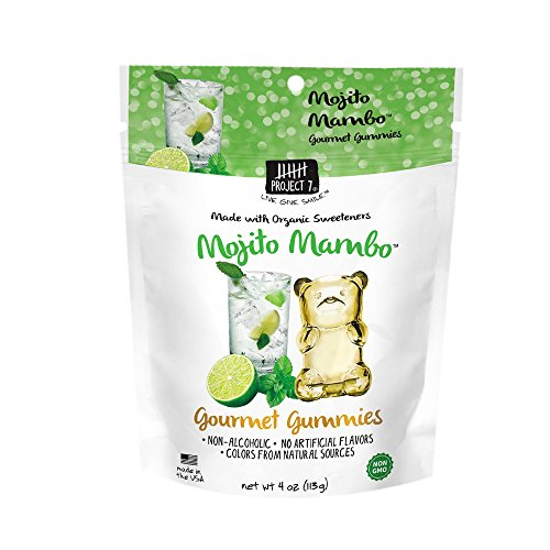 Project 7 Gourmet Gummies, Mojito Mambo, 4 Ounce