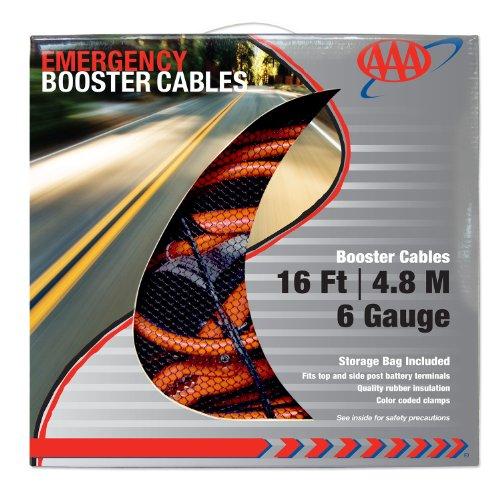 AAA 4326AAA Heavy Duty 16' 6 Gauge Booster Cable