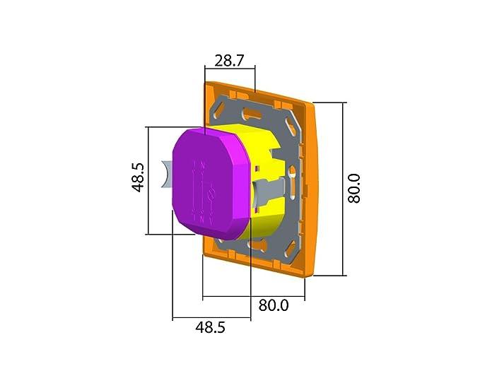 Interruptor de la luz Sensor de movimiento PIR Infraed ST02 A – para LED y bombillas