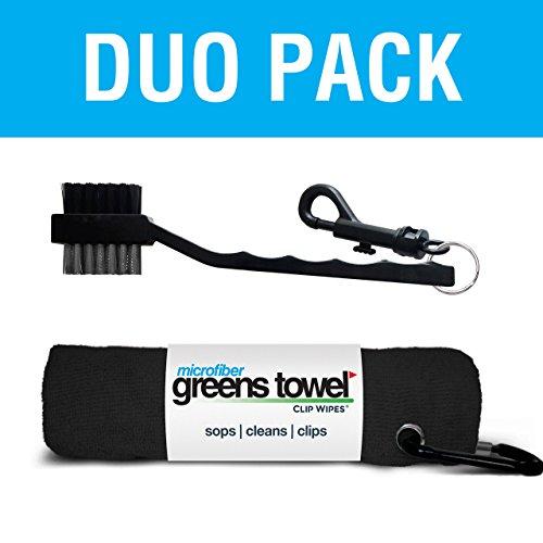 (Greens Towel Duo Pack (Jet)