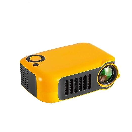 WENMHUI Mini Proyector Portátil, 1080P LED 50,000 Horas De Vida ...