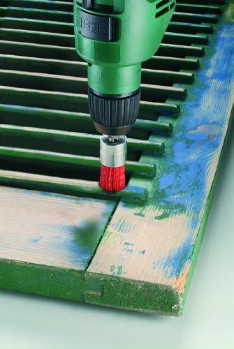 grano K80 alambre de nil/ón con medio de lijado de corind/ón 75 mm Bosch 2 609 256 535 Cepillos de disco para taladradoras