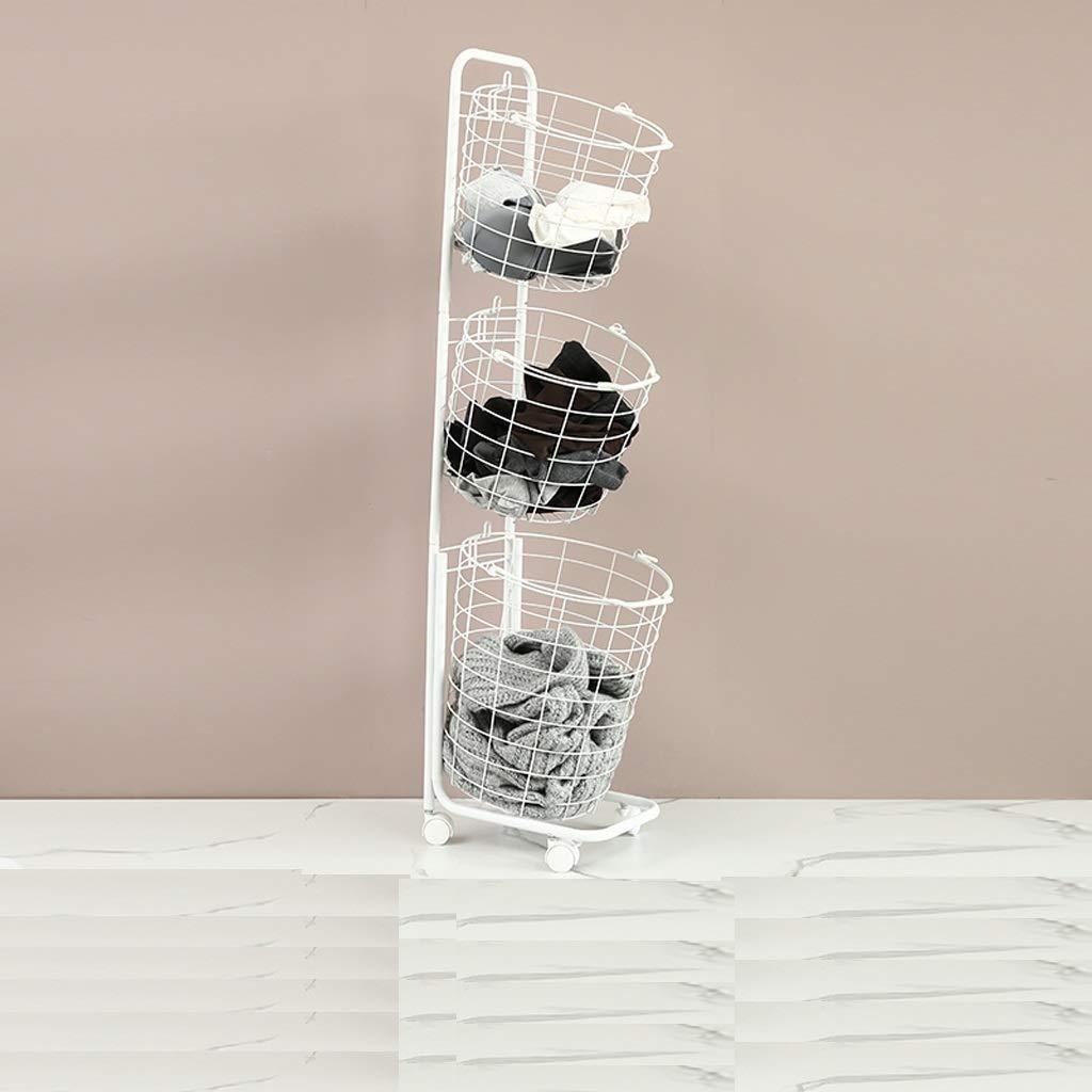 QYSZYG 防水障害者浴室収納ラック、2つのスタイル、錬鉄生産 収納バスケット (サイズ さいず : B) B  B07QF7NVS9