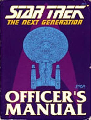 Star Trek: The Next Generation: Officer's Manual by Rick Stuart (1988-09-02)