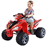 kids atv - Giantex Kids Ride On ATV Quad 4 Wheeler Electric Toy Car 12V Battery Power Red