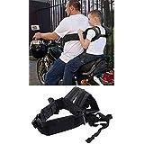 Huntiger Adjustable Children Kid Child Motorcycle Safety Belt Strap Seats Electric Vehicle Harness