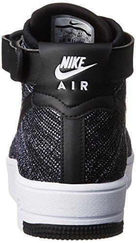Nike Mens Af1 Ultra Flyknit Metà Scarpa Da Basket Nera