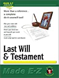 Last Will and Testament, Made E-Z Products Staff, 1563824736