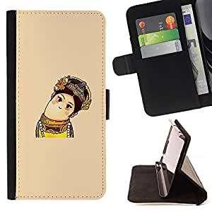 DEVIL CASE - FOR Sony Xperia Z3 D6603 - Funny Cute Figure - Style PU Leather Case Wallet Flip Stand Flap Closure Cover