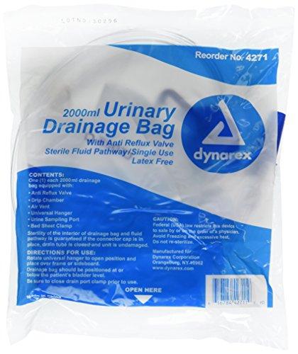 Pretrada Special Urinary Drainage Bag Dynarex, 5 Count by Pretrada (Image #1)