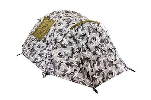 Chillbo Cabbins Stormproof Dome Camping Tent with cool patterns. Ultimate backpacking, hiking & camping gear perfect for music festivals, family camping. Sleeps 2-3 (Urban Camo)