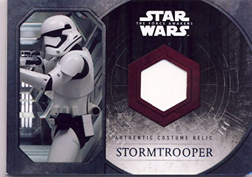 [2015 Topps Star Wars: The Force Awakens Series 1 Authentic Costume Relic Stormtrooper Chest Plate] (Authentic Stormtrooper Costume)