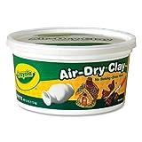 Wholesale CASE of 25 - Crayola Nontoxic Air-Dry Clay-Air-Dry Clay, 2.5lb, Nontoxic, White