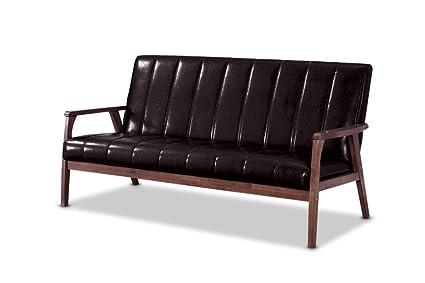Amazon.com: Baxton Furniture Studios Mid-Century Modern Scandinavian ...