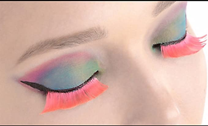 6a74534f8f0 Image Unavailable. Image not available for. Color: Self-Adhesive Hot Pink  False Eyelashes