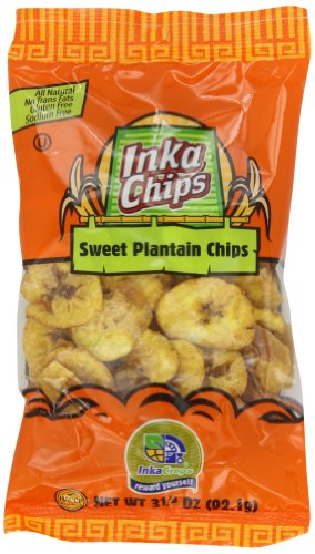 Inka Crops Inka Chips, Sweet Plantain, 3.25 Ounce (Pack of 12)