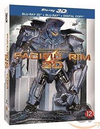 Pacific Rim 3D & 2D Disc Box Set & Molded Robot Statue 3D ...
