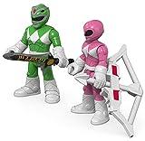 Fisher-Price Imaginext Power Rangers Green Ranger & Pink Ranger Figures