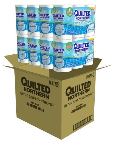 Quilted Northern Ultra Soft and Strong Bath Tissue, 144 Double Rolls
