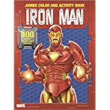 Iron Man Jumbo Color and Activity Book