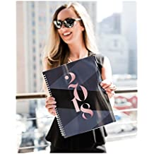 2018 Monthly Weekly Planner Calendar Appointment Book, 8.5 x 11 inches, Premium Paper, Chic Fashionable Elegant