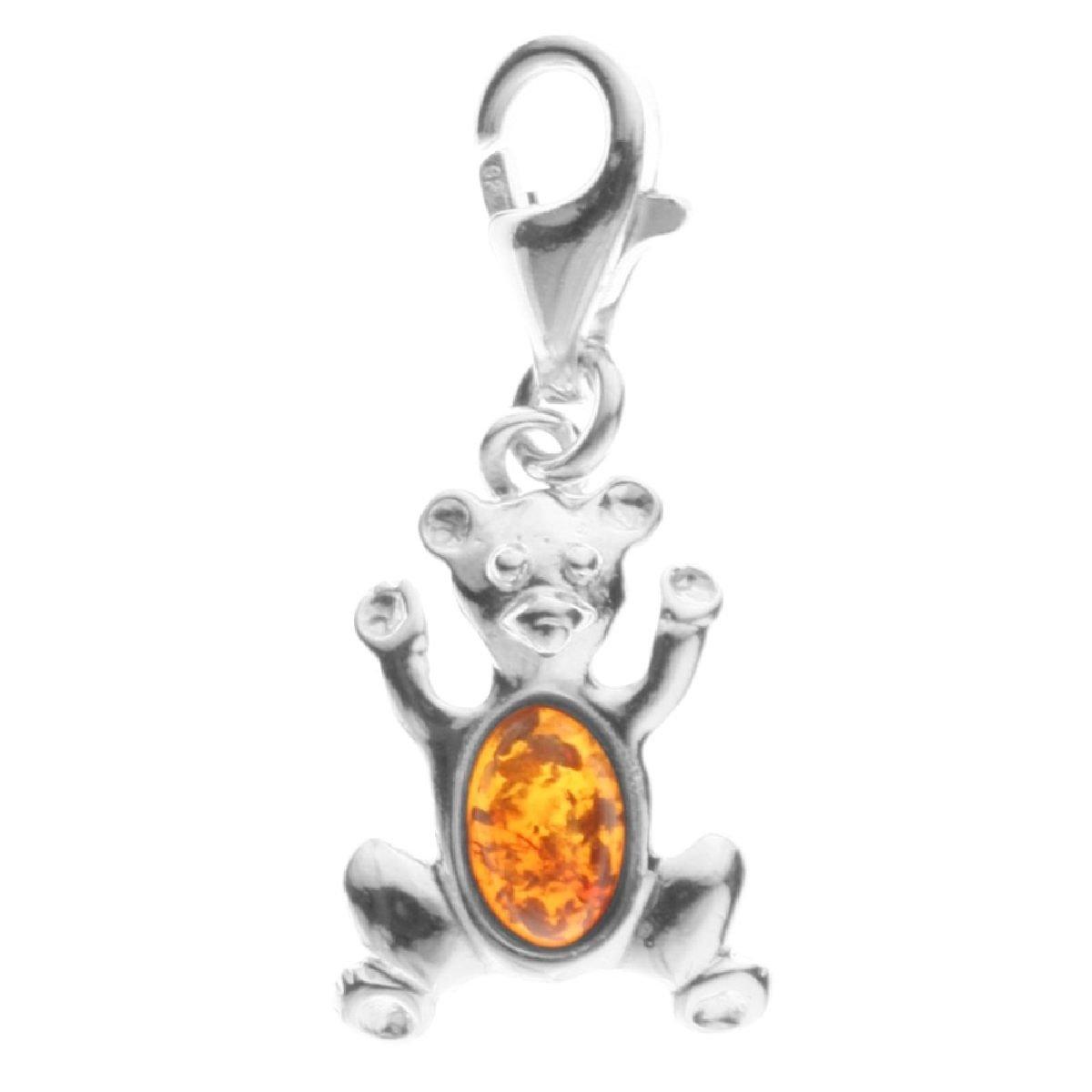 In Collections - 20200050890 - Charms Femme - Argent 925/1000 rhodié - ambre