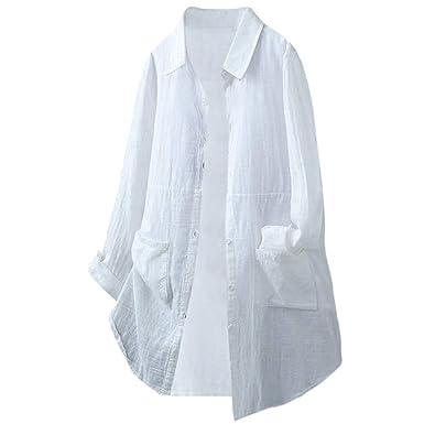 96328758e6 YOYOGO ❀Ropa Online Ropa Mujer Ropa De Ropa Venta De Ropa por Camisa De  Manga Larga De Algodón