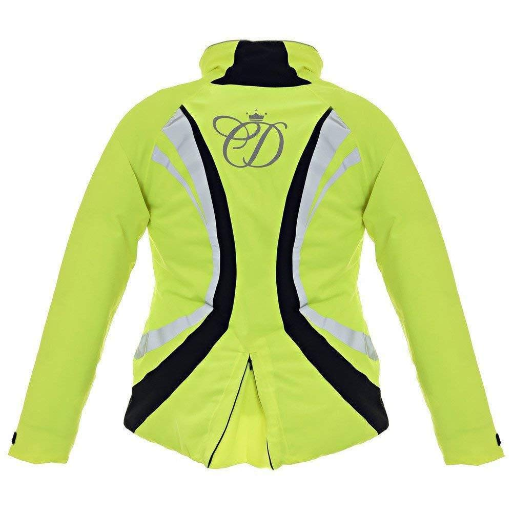 Yellow L Equisafety Adults Unisex Charlotte Dujardin Volte Waterproof Jacket II
