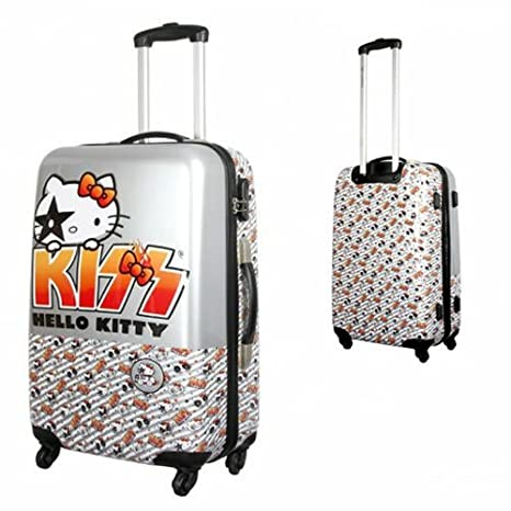 Joumma Bags - Trolley Abs 60 Cm. 4R Kiss Hello Kitty - Unico: Amazon.es: Equipaje