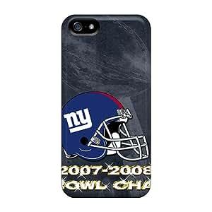 Iphone 5/5s CYu15221psNA Provide Private Custom Vivid New York Giants Image Shock Absorbent Hard Phone Cases -JoanneOickle