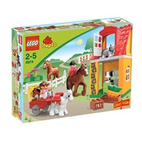 DUPLO LEGO Ville Horse Stables (4974) - Lego Ville Animals