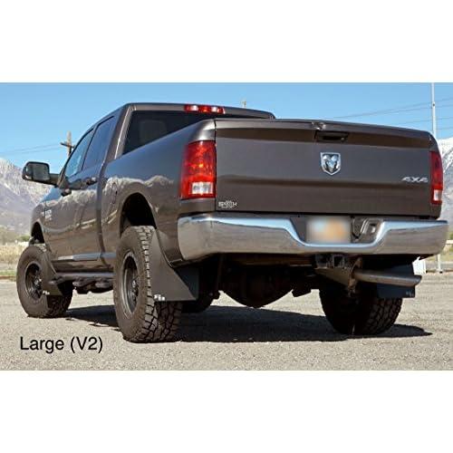 Mud Flaps For Lifted Trucks >> Premium Dodge Ram Mud Flaps By Rokblokz Fits 2010 1500 2500 3500