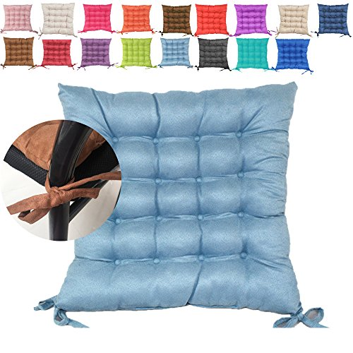 Light Blue Outdoor Cushions in US - 7