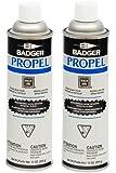 Badger Air-Brush Co. 13-Ounce Propel Propellant, 369-Gram, 2-Pack