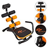Core Fitness Abdominal Trainer Crunch Exercise Bench Machine - By Choice Products