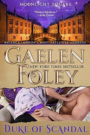 book cover of Duke of Scandal