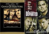 Leonardo DiCaprio's/ Martin Scorsese Modern American Classics: Gangs of New York & The Departed (Double Feature DVD Bundle)