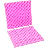 Ship Now Supply SNFCSA16162 Anti-Static Convoluted Foam Sets, 16'' x 2'', 12/Sets Per Case, 16'' width, 2'' Height, 16'' Length, Pink (Pack of 12)