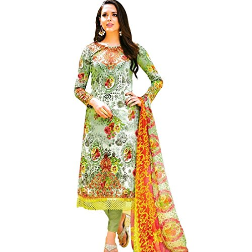 Ready-Made-Ethnic-Print-Lace-work-Cotton-Salwar-Kameez-Suit-Indian