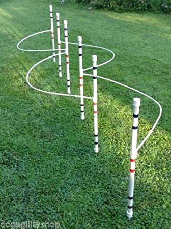 Dog agility training guide wires agility do it yourself kits.