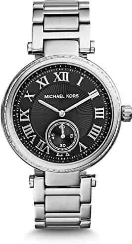 Michael Kors Women's Stainless Steel Casual Watch, Color:Silver-Toned (Model: MK6053)