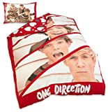 one direction bed set for boys - One Direction 1d Boyfriend Single Duvet Quilt Cover Bedding Set Official Product