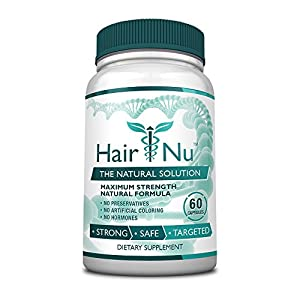 upc 683405191001 product image for HairNu Natural Hair Growth Solution / Dietary Supplement, 1 Bottle – 60 Capsules   barcodespider.com