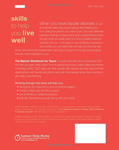 The Bipolar Workbook for Teens: DBT Skills to Help You Control ...