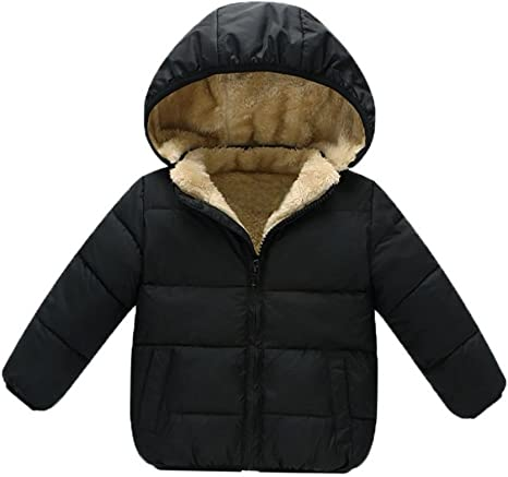 Stesti Winter Coat for Baby Girl Winter Bear Ears Hooded Winter Coat for Baby Boy